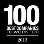 100 Best Companies To Work For 2013